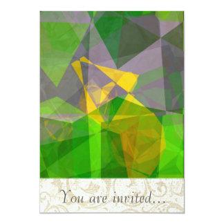 Polígono abstratos 111 convites