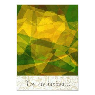 Polígono abstratos 124 convites