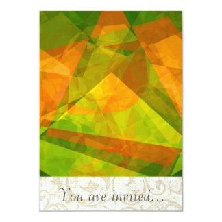 Polígono abstratos 127 convite