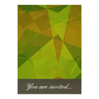 Polígono abstratos 129 convite