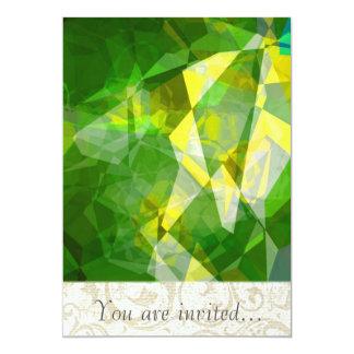 Polígono abstratos 135 convite