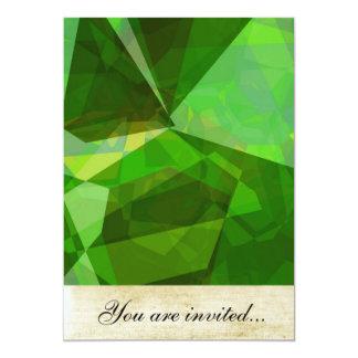 Polígono abstratos 137 convite
