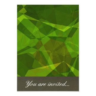 Polígono abstratos 138 convites personalizados