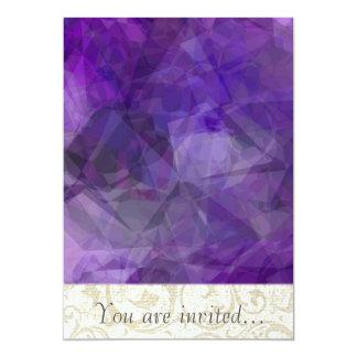 Polígono abstratos 155 convite