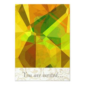 Polígono abstratos 173 convite