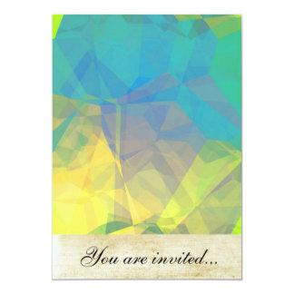 Polígono abstratos 189 convites