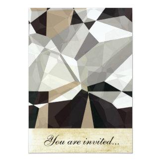 Polígono abstratos 212 convite