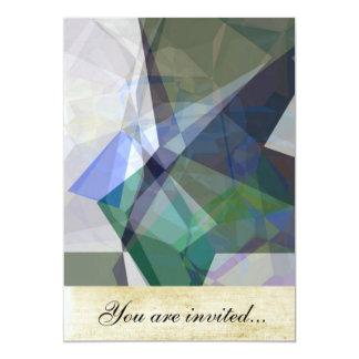 Polígono abstratos 228 convite