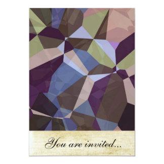 Polígono abstratos 245 convite