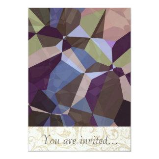 Polígono abstratos 245 convites