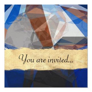 Polígono abstratos 255 convite
