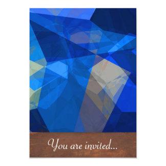 Polígono abstratos 259 convite 12.7 x 17.78cm