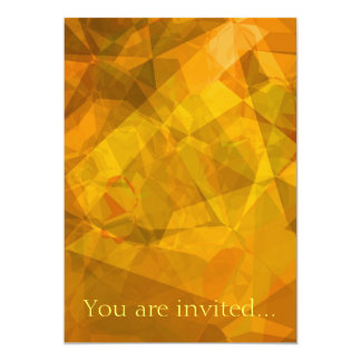 Polígono abstratos 27 convite 12.7 x 17.78cm