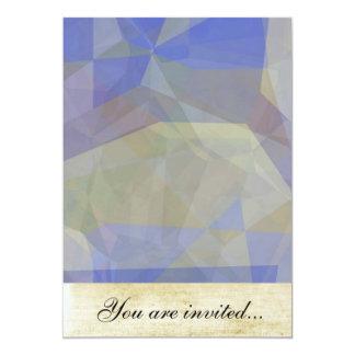 Polígono abstratos 38 convites