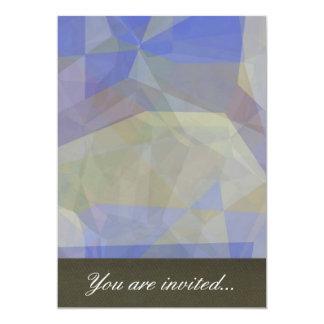 Polígono abstratos 38 convite 12.7 x 17.78cm