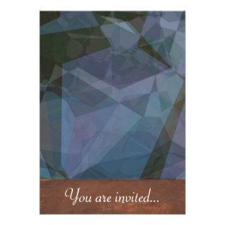 Polígono abstratos 47 convites