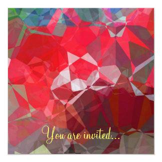 Polígono abstratos 53 convites