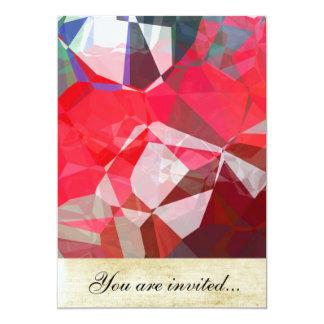 Polígono abstratos 54 convites
