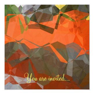 Polígono abstratos 59 convites