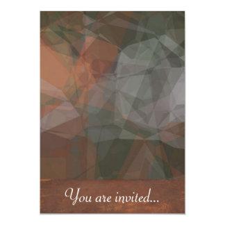 Polígono abstratos 67 convite