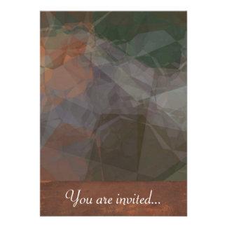 Polígono abstratos 77 convite