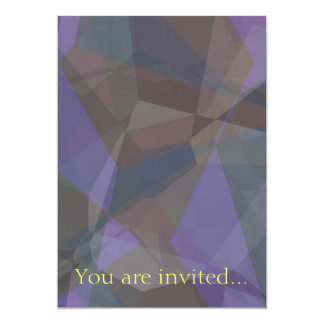 Polígono abstratos 93 convites personalizados