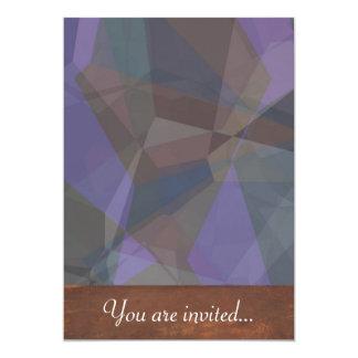 Polígono abstratos 93 convite