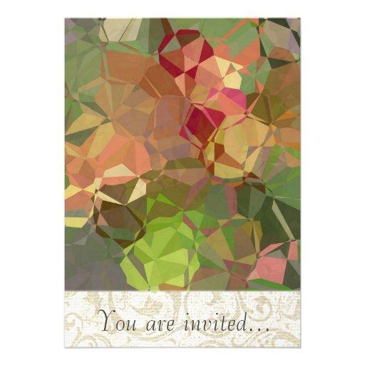Polígono abstratos 94 convite