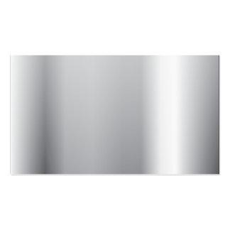 Polimento de prata cartão de visita