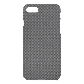 Polímero preto e cinzento da fibra do carbono capa iPhone 7