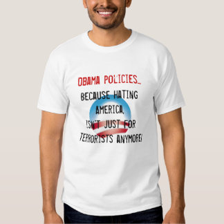 Políticas de Obama… T-shirt