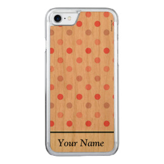 Polka Dots Capa iPhone 7 Carved
