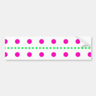 polka dots ponteais dar pontos adesivo para carro