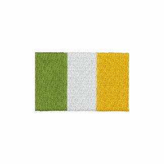 Pólo bordado da bandeira de Ireland do irlandês Polo