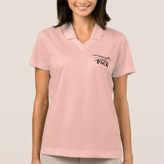 Pólo das senhoras do BLOCO Camisa Polo