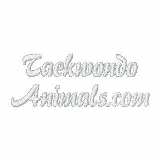 Polo de Taekwondo Animals com