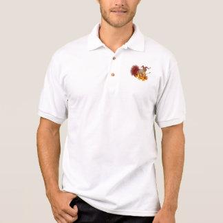 Pólo do esquilo de Krampus Camisa Polo
