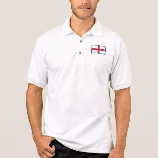 Polo do golfe da bandeira de Inglaterra
