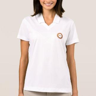 Pólo do piqué do Dri-AJUSTADO de Nike das mulheres Camisa Polo