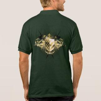Pólo medieval do protetor camisa polo