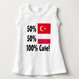 Polonês 100% do turco 50% de 50% bonito vestido