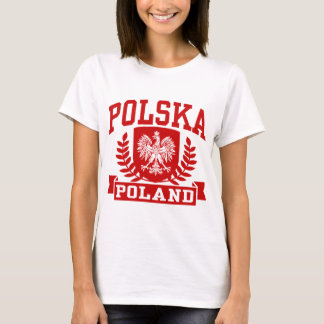 Polônia de Polska Camiseta