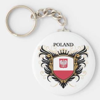 Polônia [personalize] chaveiros