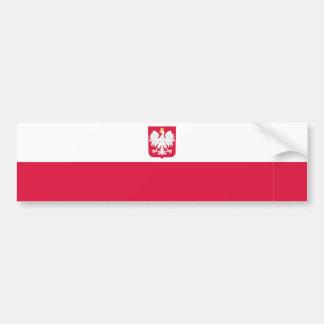 Polônia/Pólo/bandeira polonesa Adesivo Para Carro