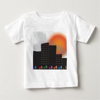 Poluição atmosférica da selva e embaçamento urbano t-shirts