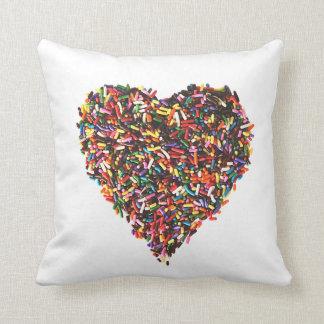 Polvilha o travesseiro decorativo almofada