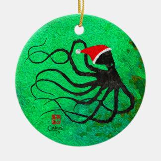 Polvo 2 do Natal - ornamento do círculo