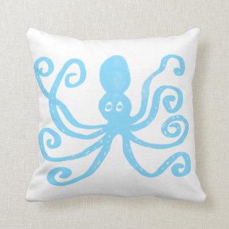 Polvo dos azuis bebés almofada