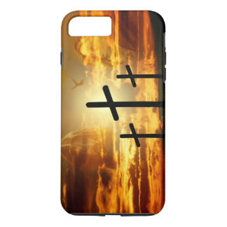 Pomba abençoada Jesus Cristo Calvery da Virgem Capa iPhone 7 Plus