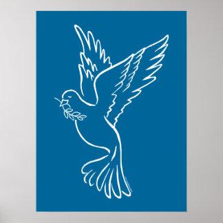 Pomba da paz poster